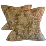Pair Fortuny Style Pillows