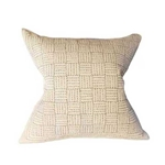 Japanese Ivory Stitched Pillow