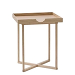 Square Oak Tray Table