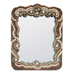 Baroque Shell Mirror