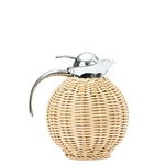 Wicker Thermal Carafe