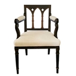 Set Gothic Revival Chairs