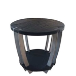 Ebonized Side Table