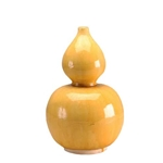 Chinese Yellow Gourd Vase