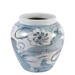 Chinese Twisted Flower Vase
