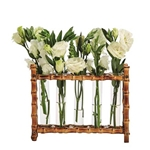 Bamboo Flower Holder