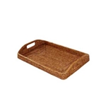 Rattan Morning Tray; Sm.