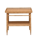 Wicker Tray Table