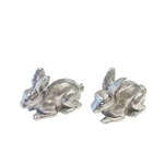 Tiffany Rabbit Salt and Pepper