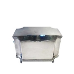 English Silver Lidded Caddy