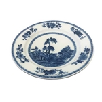 Chinese Blue Willow Porcelain Plates