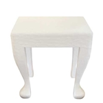 White Gesso Table