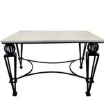 Neoclassical Garden Table