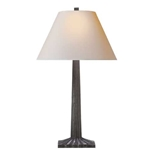 Bronze Fluted Lamp