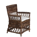 Wicker Plantation Chair