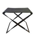 Folding Leather Stool