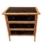 Bamboo Chinoiserie Chest