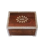 Small Teak Inlay Box