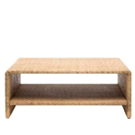 Rattan Waterfall Coffee Table