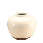 Chinese White Pear Vase