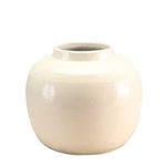 Chinese White Apple Vase
