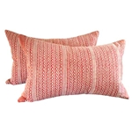 Fortuny Tapa Coral Pillow