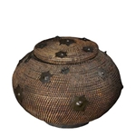 Heirloom Rattan Basket