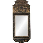 Chinoiserie Lacquer Mirror