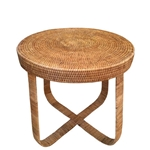 Rattan Deco Side Table