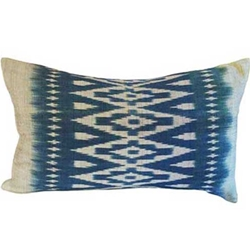 Indigo Ikat Pillows