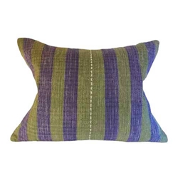 Thai Woven Stripe Pillows