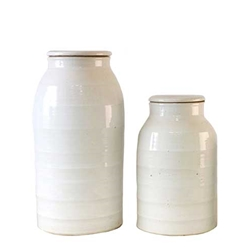 Chinese White Storage Jar
