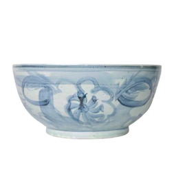 Chinese Twisted Flower Bowl
