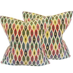 Vintage Ikat Pillows