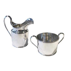 Tiffany Silver Cream and Sugar Set