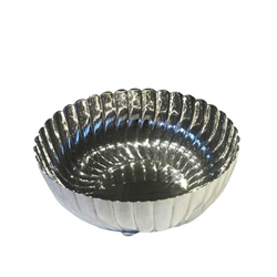 Tiffany Silver Fluted Bowl