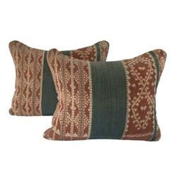 Indonesia Ikat Pillow