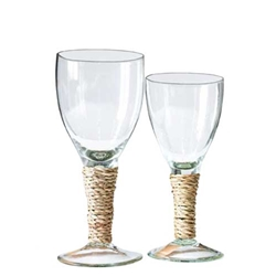Seagrass Wine Goblets