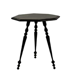 Pair of French Ebonized Tables