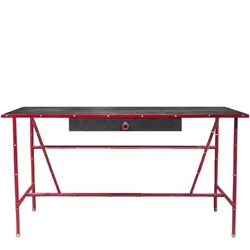 Jacques Adnet style Desk