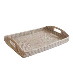 Bleached Morning Tray, Lg.