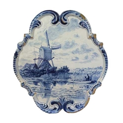 Delft Wall Plaque