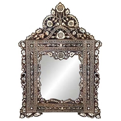 Mother of Pearl Inlay Mirror