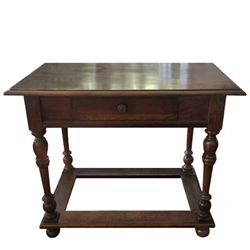French Balustrade Table