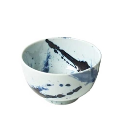 Japanese Blue Sumi Rice Bowl